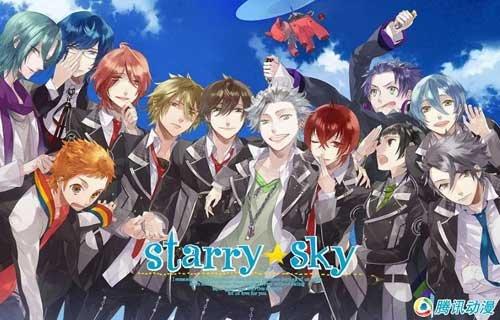 人气作品[Starry☆Sky]动画化决定