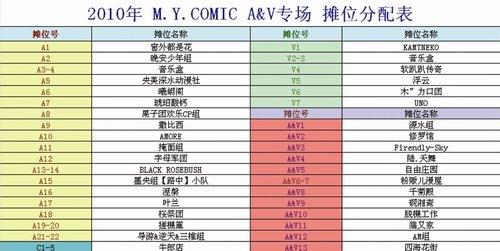 M.Y.COMIC同人展3月28日北京开场