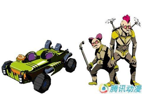 SF赛车动画《TAILENDERS》详报