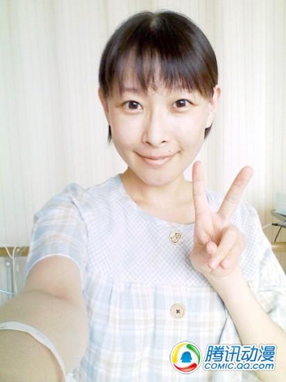 后藤邑子脱离危险期 或于8月出院