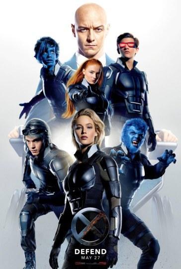 《X战警:天启》发新海报 X战警集结