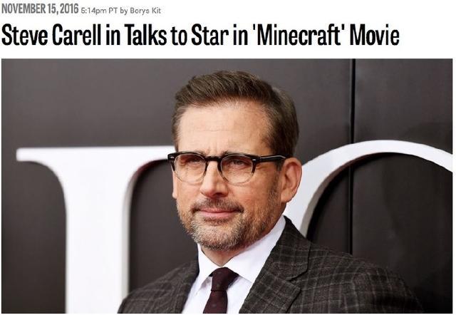 《我的世界》真人电影史蒂夫将加盟