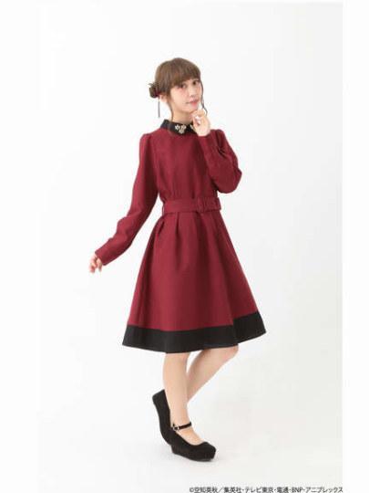 银子还是神乐? 《银魂》官方联动连衣裙发售