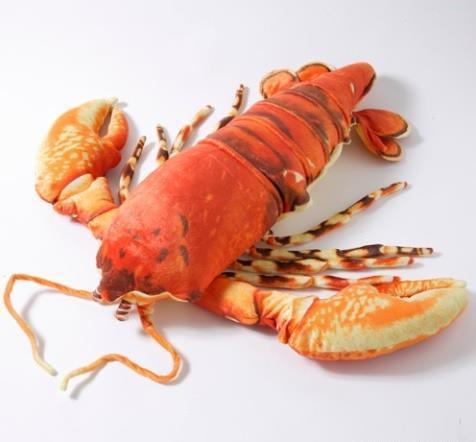 岛国推出1米长小龙虾抱枕 网友齐喊饿!