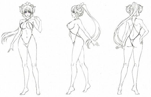 春季番《sin七大罪》公布一组泳装设定图及艺术场景图