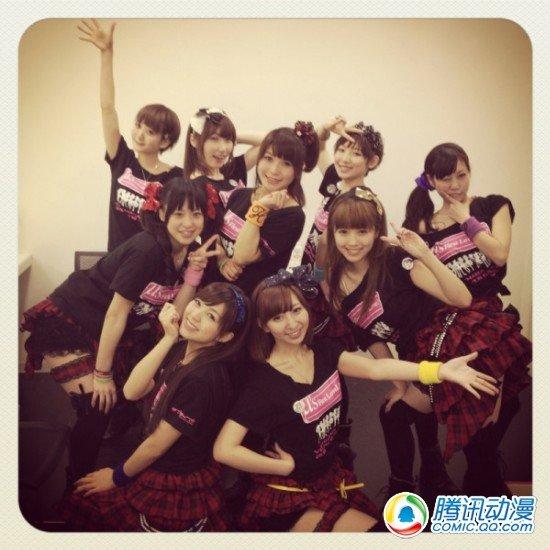 声优组合μ's六月将举办3rd演唱会