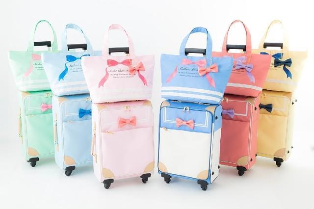 跟月野兔去旅行《美战》手挽袋与拖箱出场_动漫_腾讯网