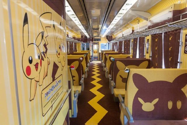 皮卡丘当老司机!《宝可梦》主题列车正式发车
