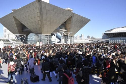 超过10%的日本大学生去过COMIKE