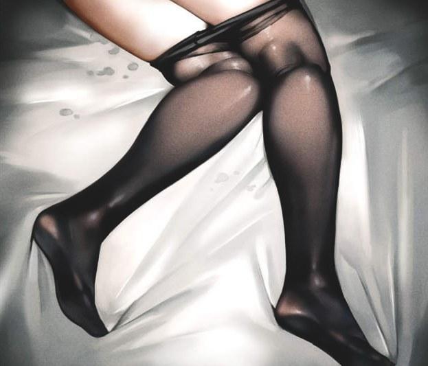 丝袜控福利!岛国绅士画师传授黑丝上色教程