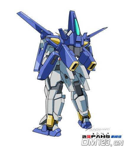 《高达AGE》第三代主角机设图公开