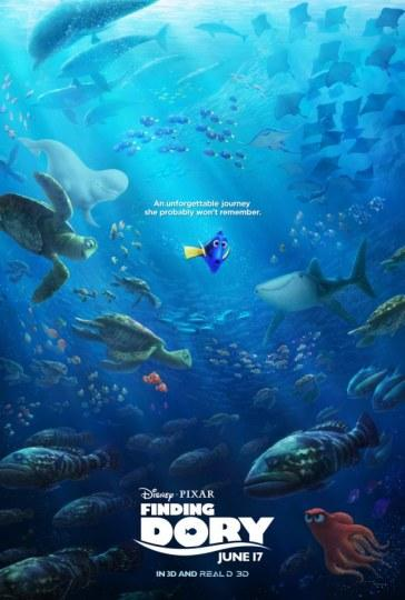 多莉被包围 《海底总动员2》发布新海报