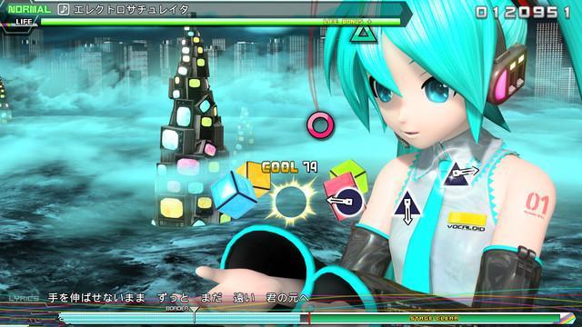 PS4《初音未来Future Tone》游戏画面曝光