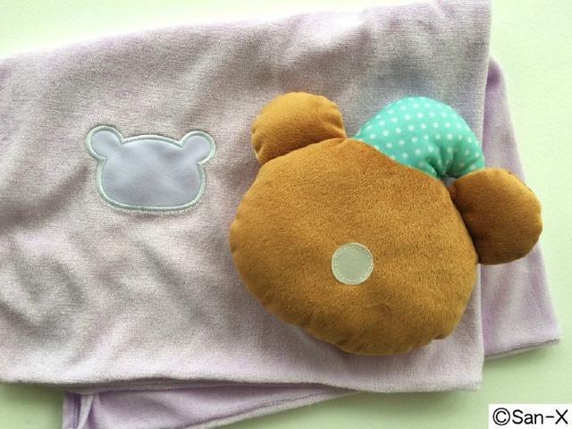 小熊黏两边超安全!轻松熊推出联动枕头套