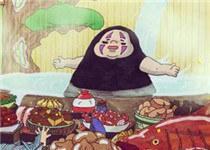 这个无脸男太胖!岛国画师乱入吉卜力动画世界