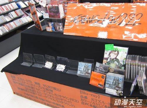 [EVA新剧场版:破]DVD及BD销售一空