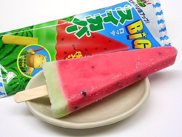 日本人夏天最爱吃的冰棍排名