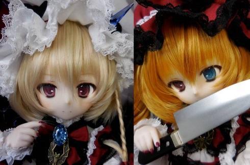 东方厨都是土豪 80万日元拍走改造人偶