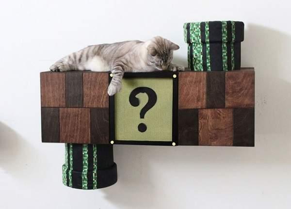 超级马里奥猫爬架发售
