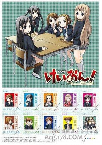 《轻音》主题邮票11月15日限定发售