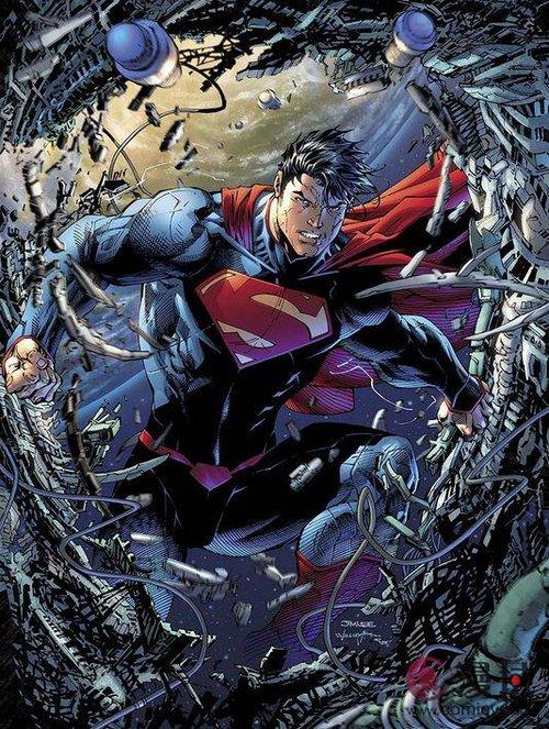 吉姆·李执笔《超人》75周年新漫画