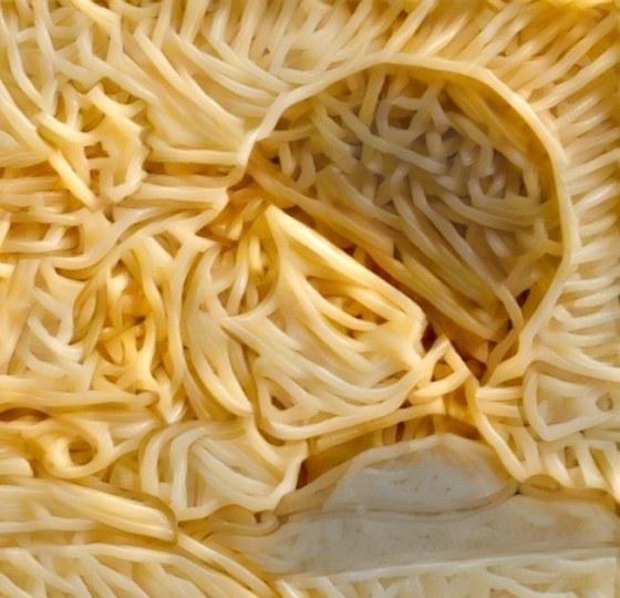外网推出意大利面合成照《兽娘》《柯南》均被玩坏了