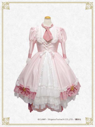 瞄准钱包——小樱的洛丽塔裙实物化图片