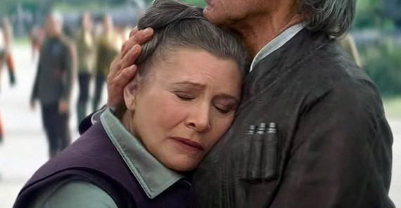 导演解释《星战7》莱娅公主为何不抱楚巴卡