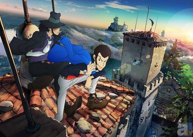 《鲁邦三世》新系列蓝光发售详情公布