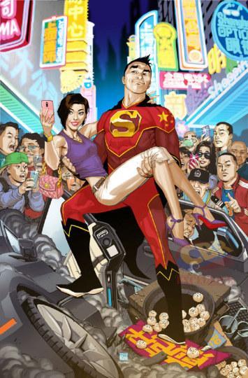 DC发布新漫画中国超人脚踩生煎包出镜