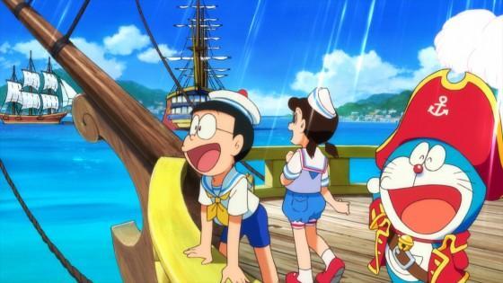 大航海冒险!剧场版《哆啦A梦:大雄的宝岛》预告公开