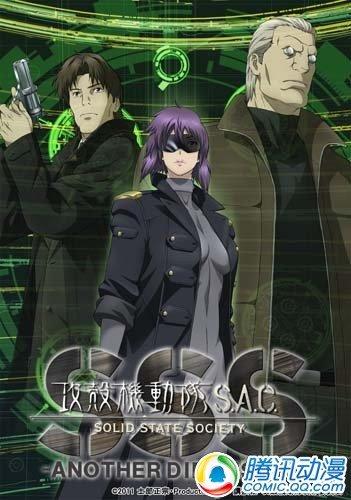 [攻壳机动队S.A.C.3D]7月发售DVD