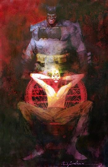 """""""蝙蝠侠""""画作被盗 艺术商悬赏五千美元"""
