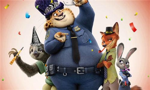 《疯狂动物城》全球票房突破8亿美元!
