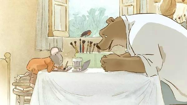 _法国动画《艾特熊和赛娜鼠》将出续集