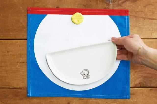 日本邮局卖哆啦A梦餐具 四次元口袋、记忆面包快到碗里来