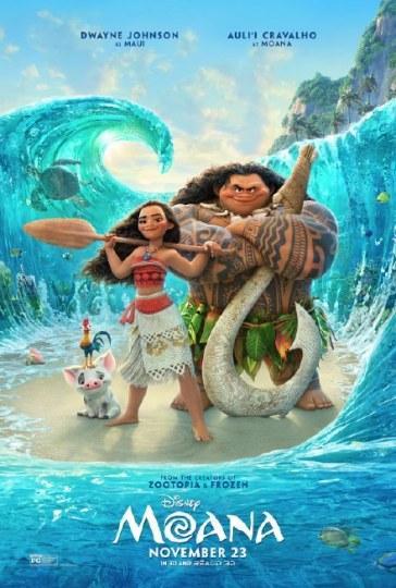 迪士尼《海洋奇缘》发布海报