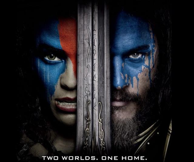 《魔兽》曝IMAX海报 半兽人迦罗娜上位!