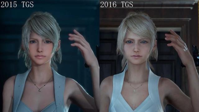 到底哪个美?《最终幻想15》美女主角引发变丑争议