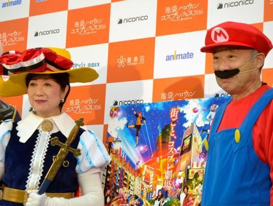 63岁东京都知事COS《蓝宝石王子》 日宅表示辣眼睛
