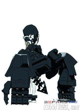 一月新番《黑岩射手》角色设定公开