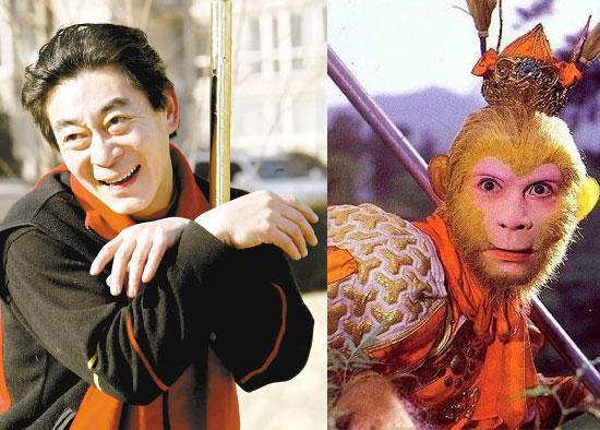 """中美合拍《西游记》 57岁六小龄童再演""""美猴王"""""""