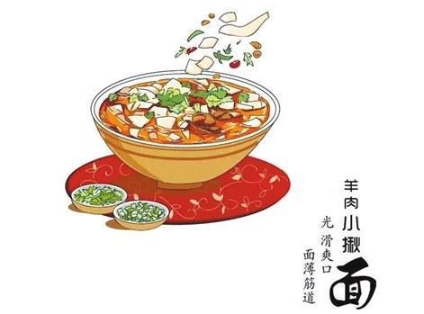 好吃又好看!萌妹子用漫画为宁夏面食代言!