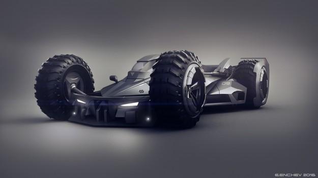 这款蝙蝠车能让蝙蝠侠流口水