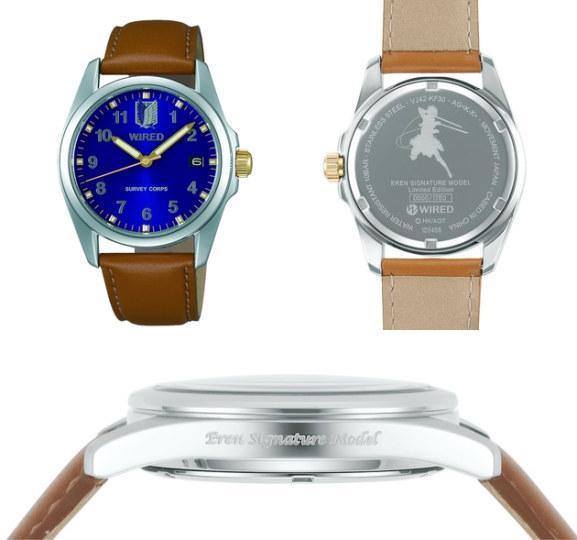 《进击的巨人》推出限量时尚手表