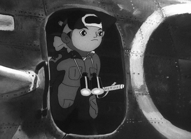 日本第一部动画长片《桃太郎》北美上映