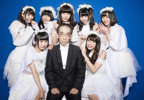 大叔都爱美少女!新垣隆与偶像组合拍MV