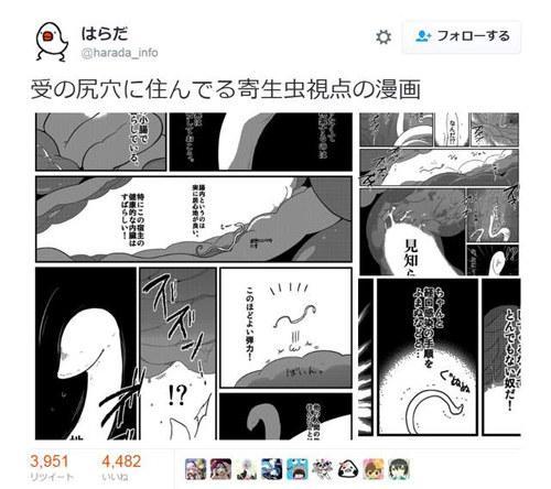 寄生虫视点的BL漫画引发大批银土党回忆