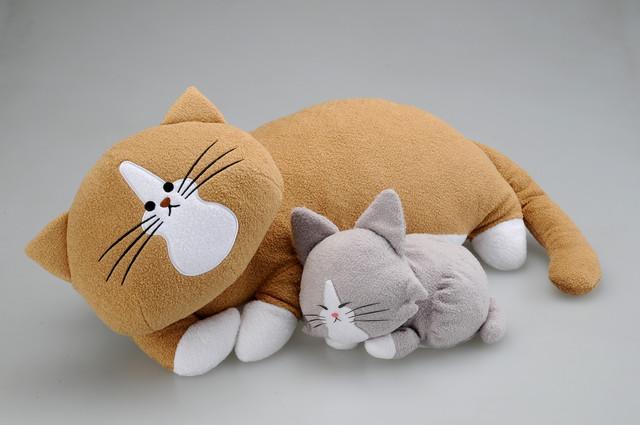 猫奴必备!《鸿池刚与ponta》推出猫咪手枕