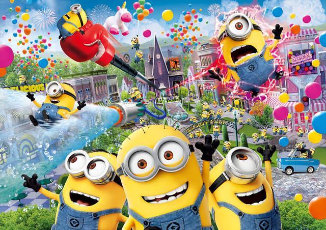 有香蕉吗?环球影城小黄人乐园明年开业